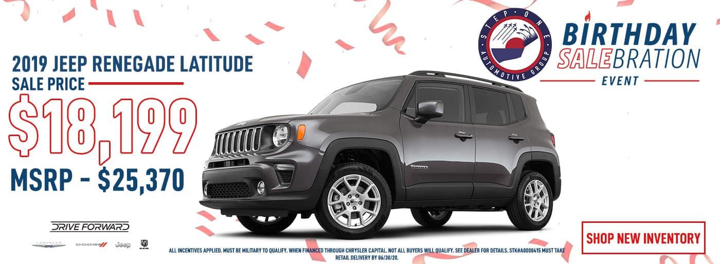 CDJR FWB - June 2020 - Jeep Renegade