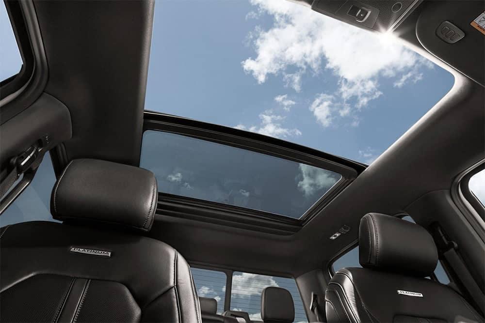 2019 Ford F-150 Interior Moonroof