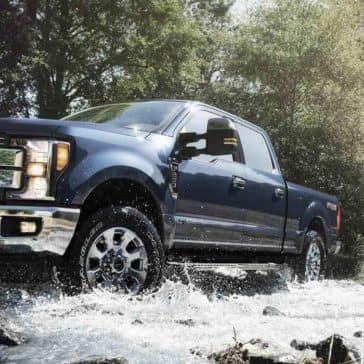 2019 Ford Super Duty Lariat Crew Cab off-road