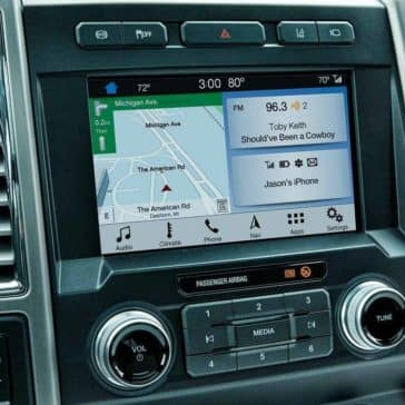 2019 Ford Super Duty navigation system