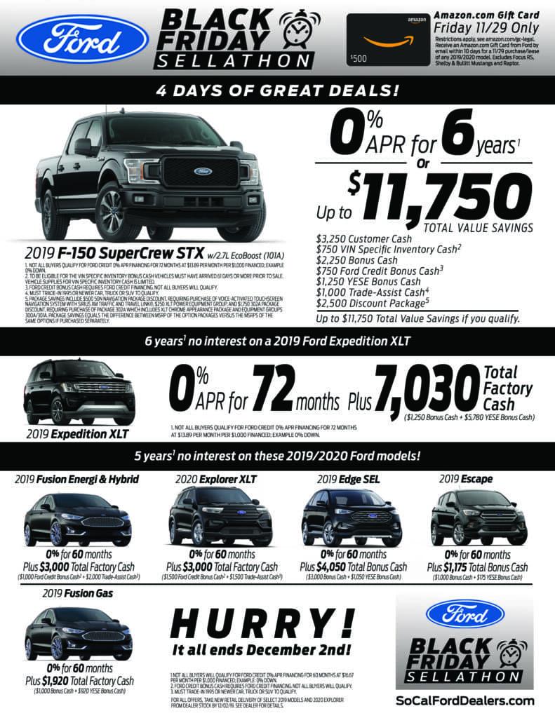 Black Friday Savings Citrus Motors Ford