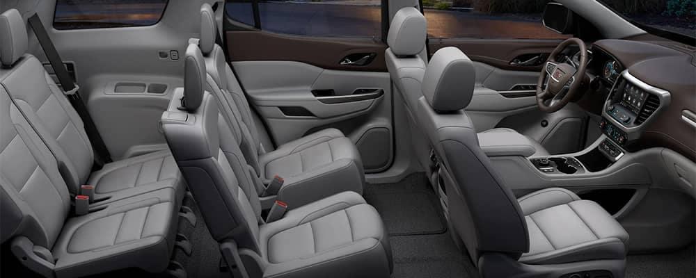 2020 GMC Acadia Interior Seating Options
