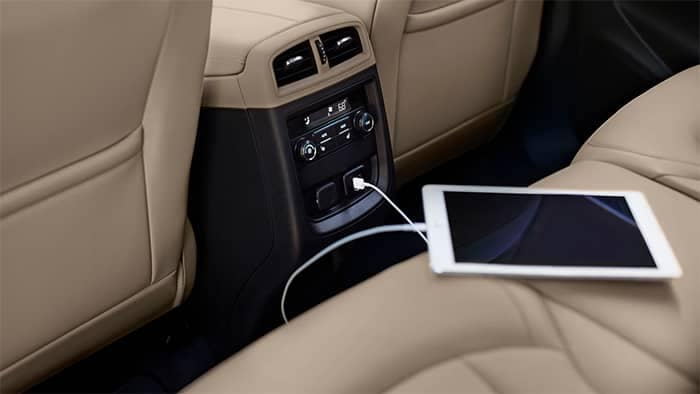 Buick Envision Rear Seat Technology Features