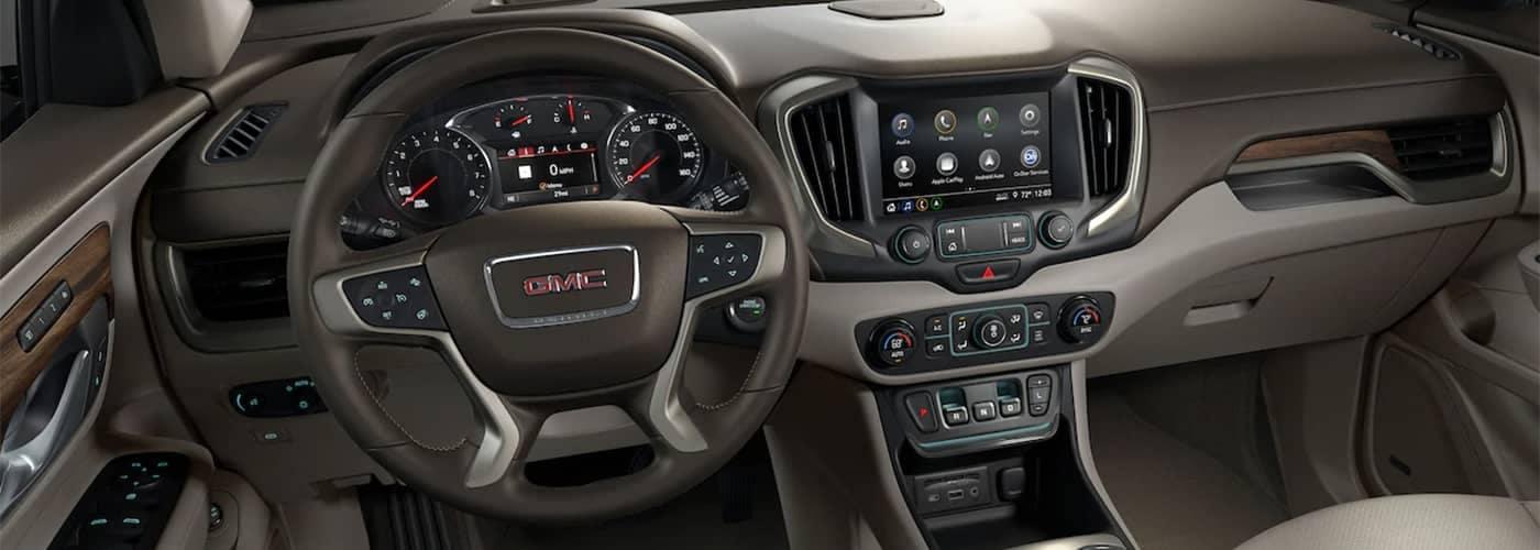 GMC Terrain Dashboard Features