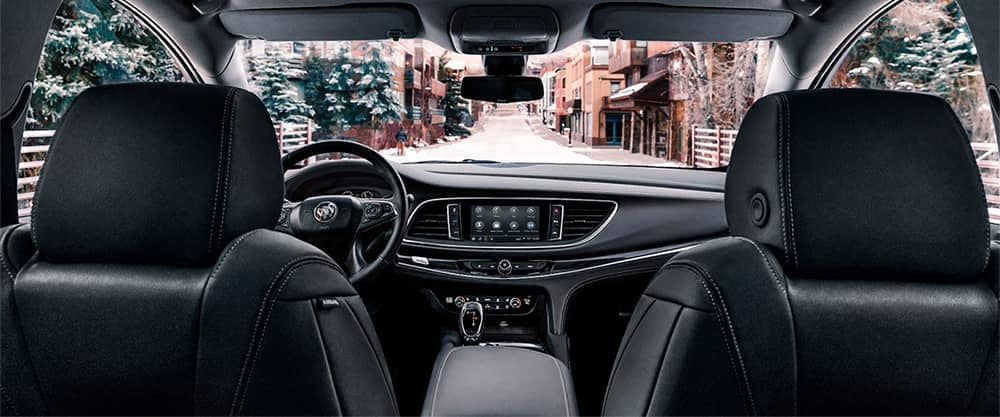 2020 Buick Enclave Interior Front