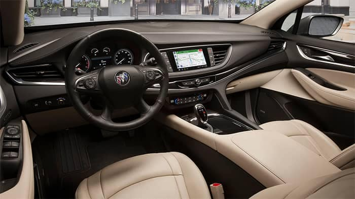 2020 Buick Enclave Interior Front Seating