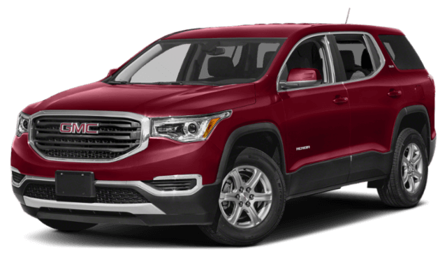 2020 GMC Acadia red