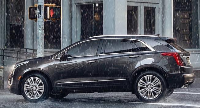 2019 Cadillac XT5 In The Rain