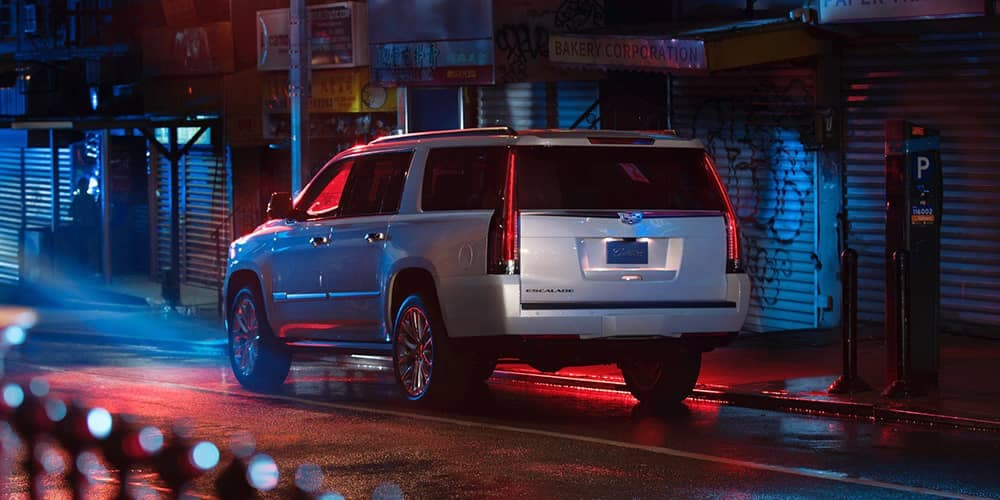 2020 Cadillac Escalade ESV Rear