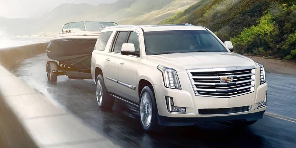 2020 Cadillac Escalade ESV Towing Boat