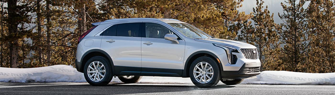 2020 Cadillac XT4 Parked in Parking Lot