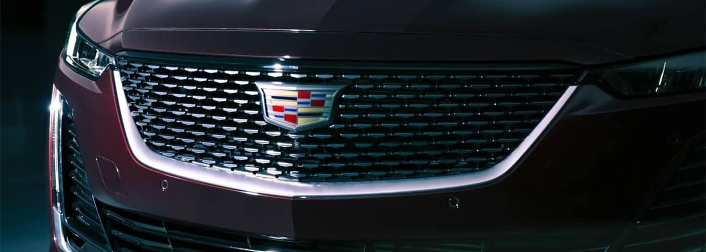 Cadillac Close Up Front End
