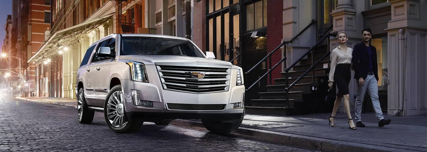 Cadillac Escalade Parked on Street