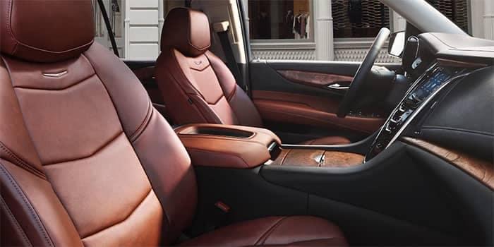 Cadillac Escalade Interior Front Seating