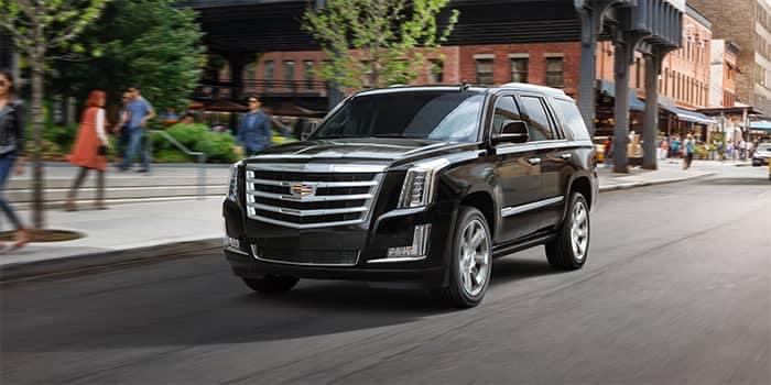 2020 Cadillac Escalade Driving