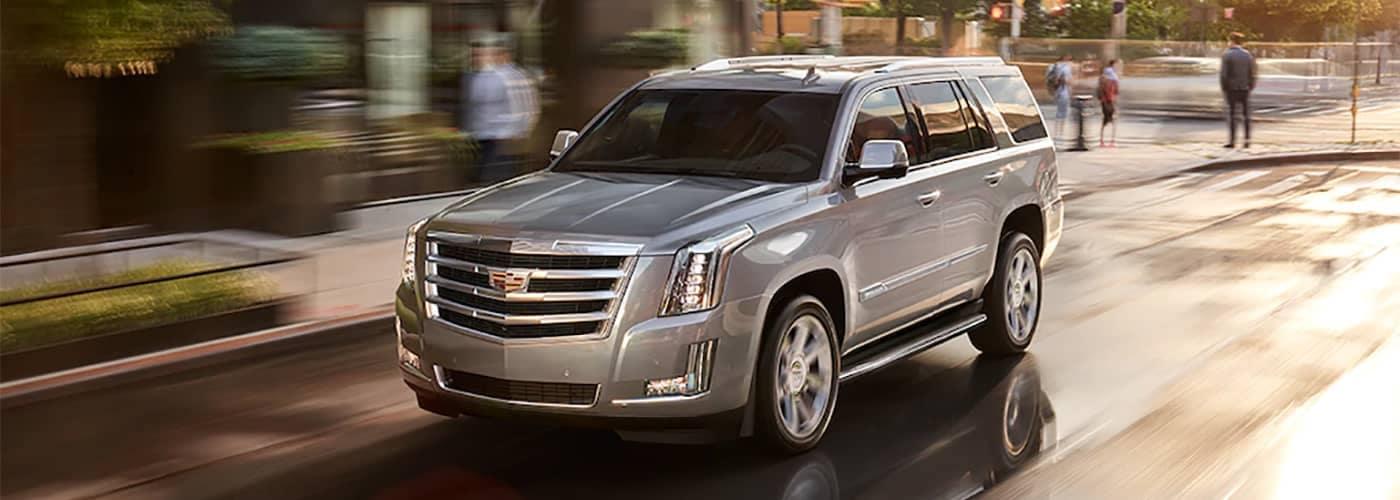Cadillac Escalade Driving
