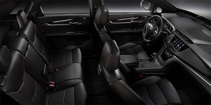 Cadillac XT5 Interior Seating Options