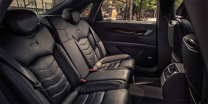 Cadillac XT6 Interior Rear Seating
