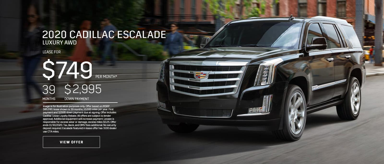 2020 ESCALADE LUXURY AWD