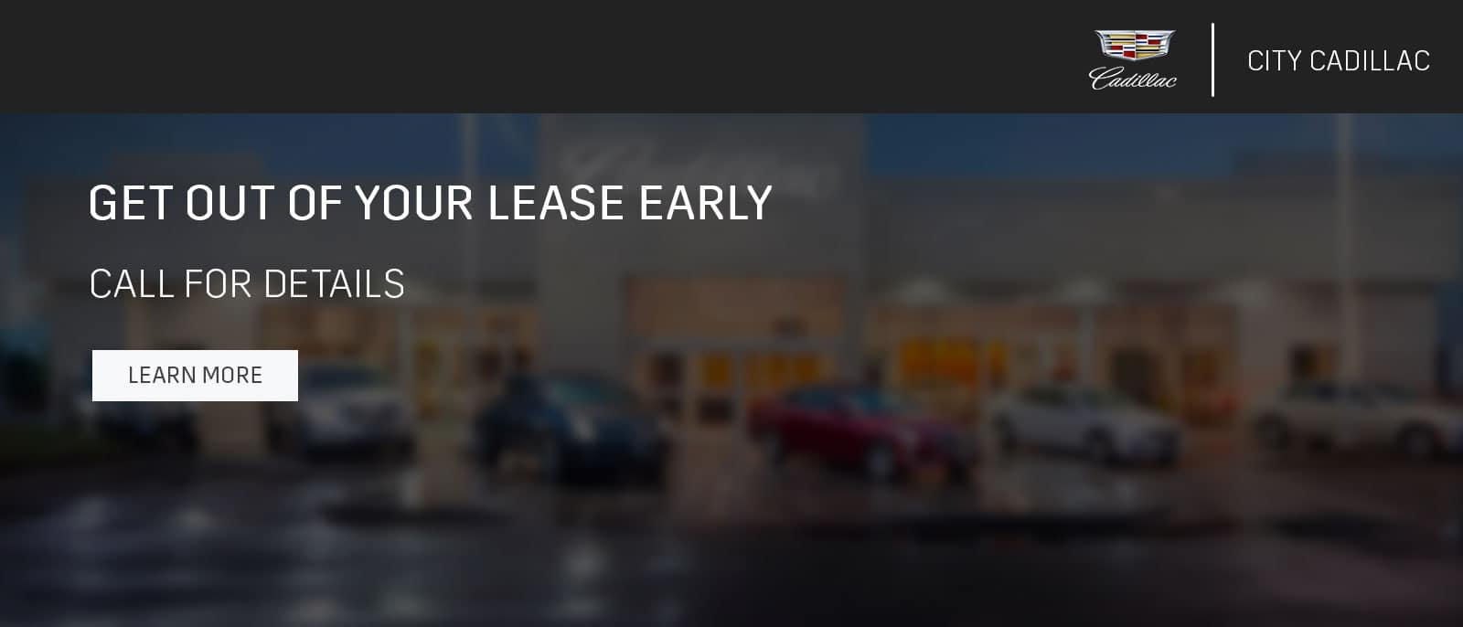 GET OUT OF YOUR LEASE EARLy