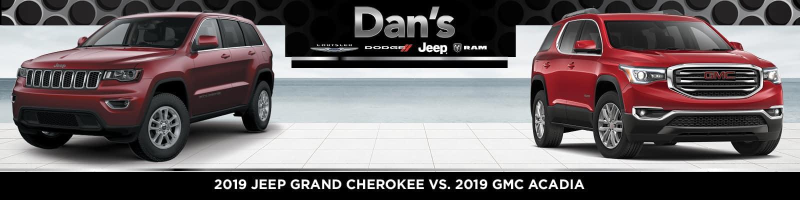 Jeep Grand Cherokee vs. GMC Acadia