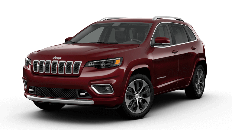 2019 Jeep Cherokee Overland - Velvet Red