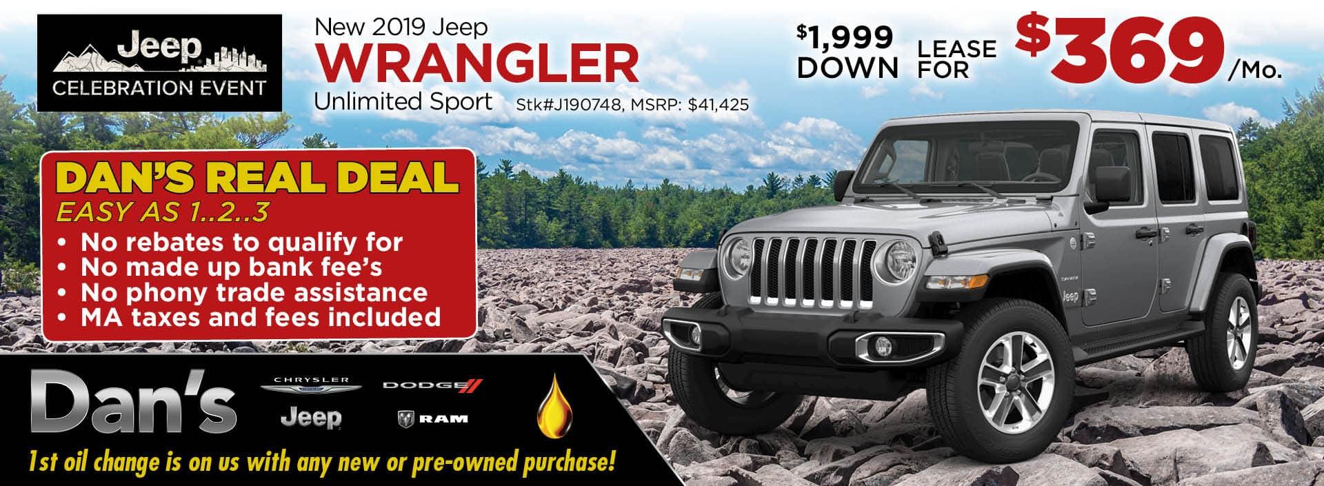 2019 Jeep Wrangler Unlimited Sport 4x4_1