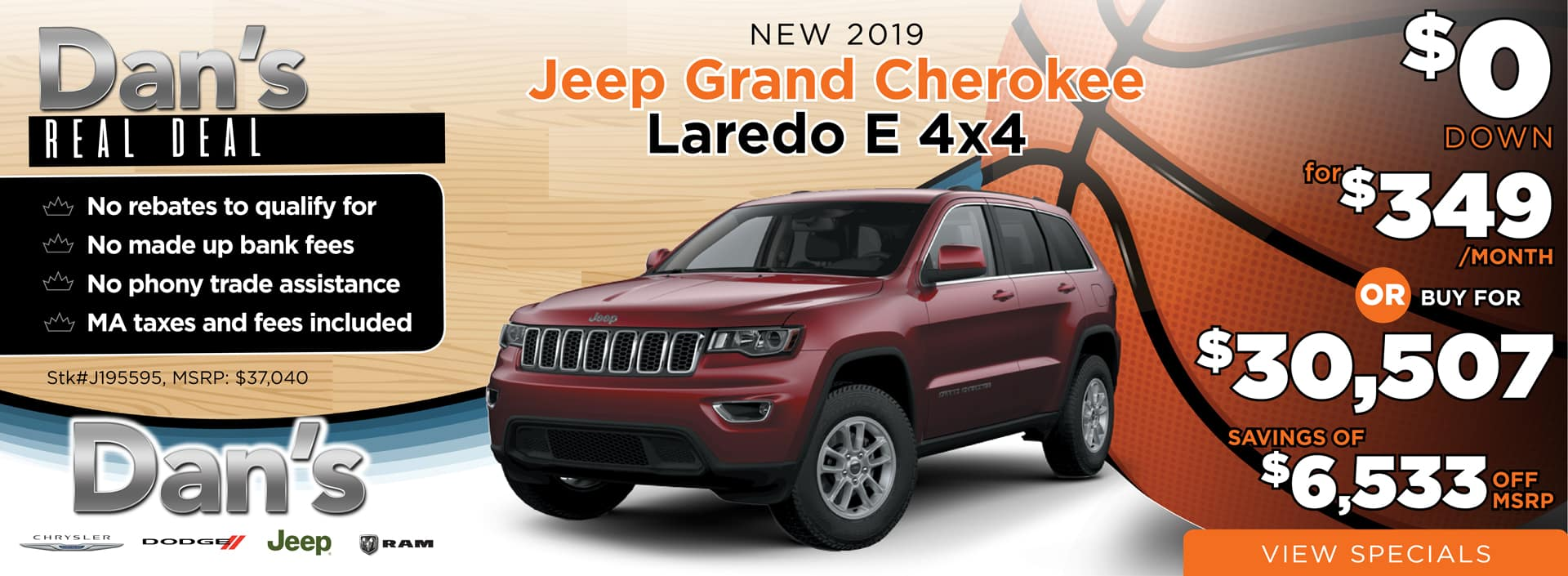 2019 Jeep_Grand Cherokee Laredo