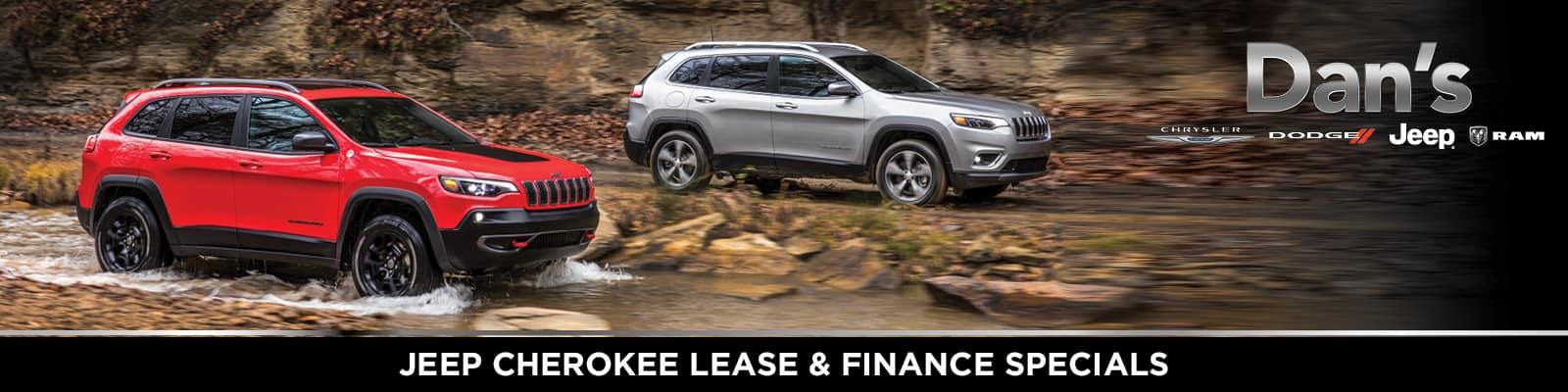 Jeep Cherokee Lease & Finance Offers