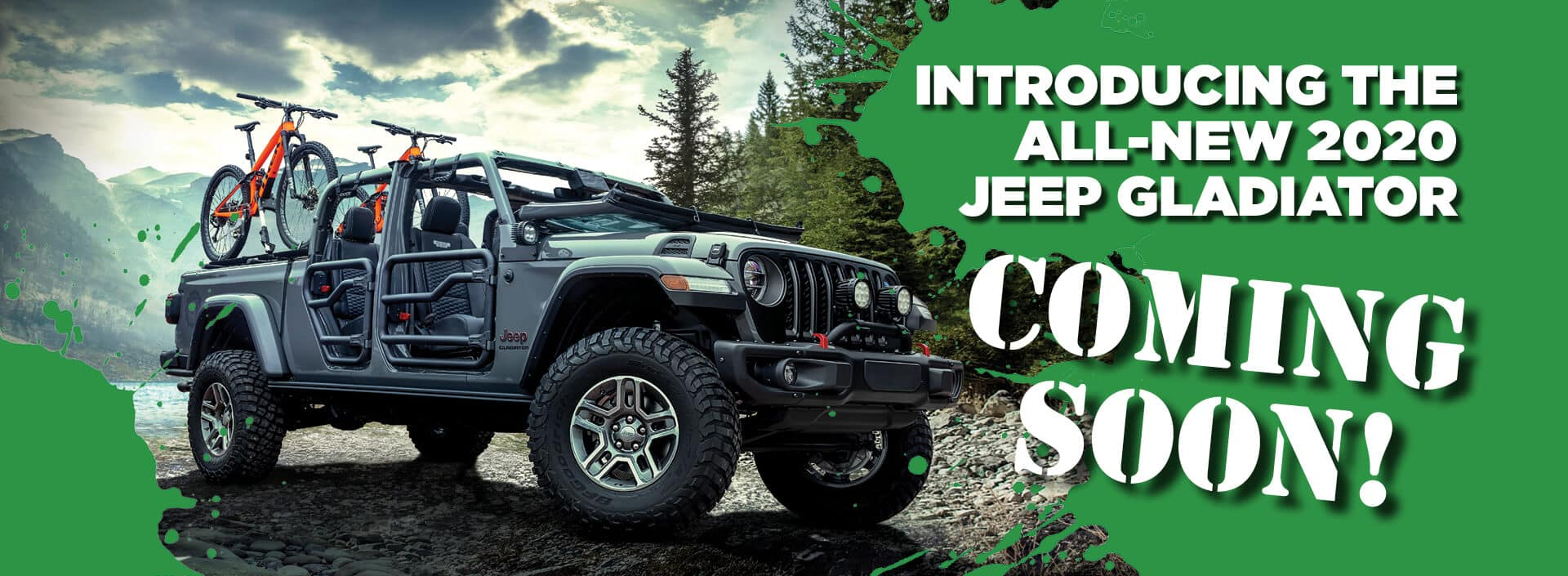 Introducing the All-New 2020 Jeep Gladiator