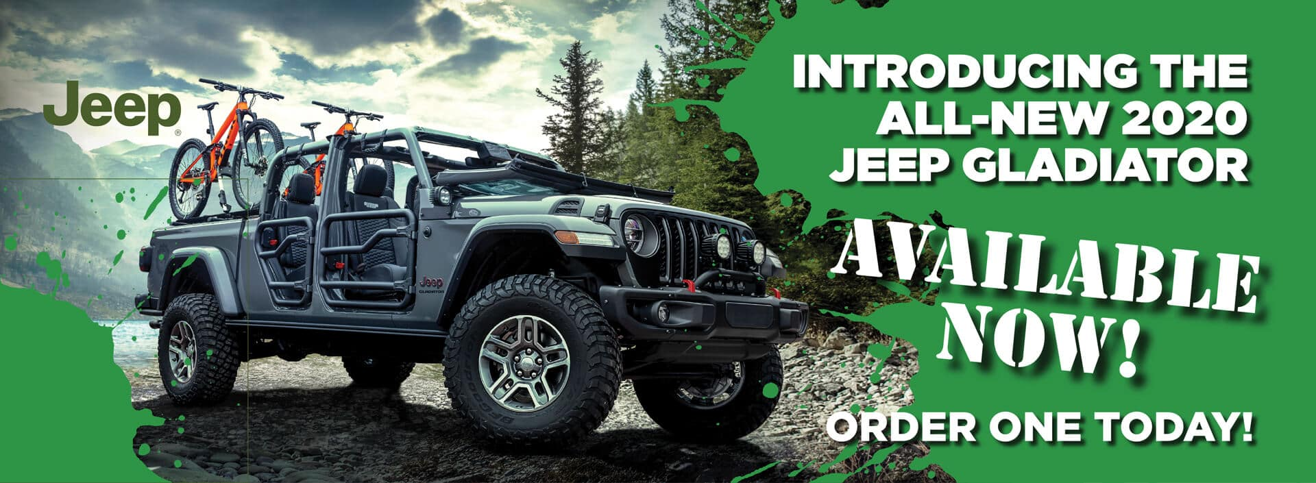 2020 Jeep Gladiator Available Now