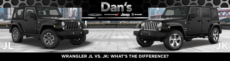 Wrangler JL vs  JK: What's the Difference? | Dan's CDJR