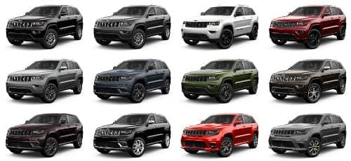 grand cherokee trim levels