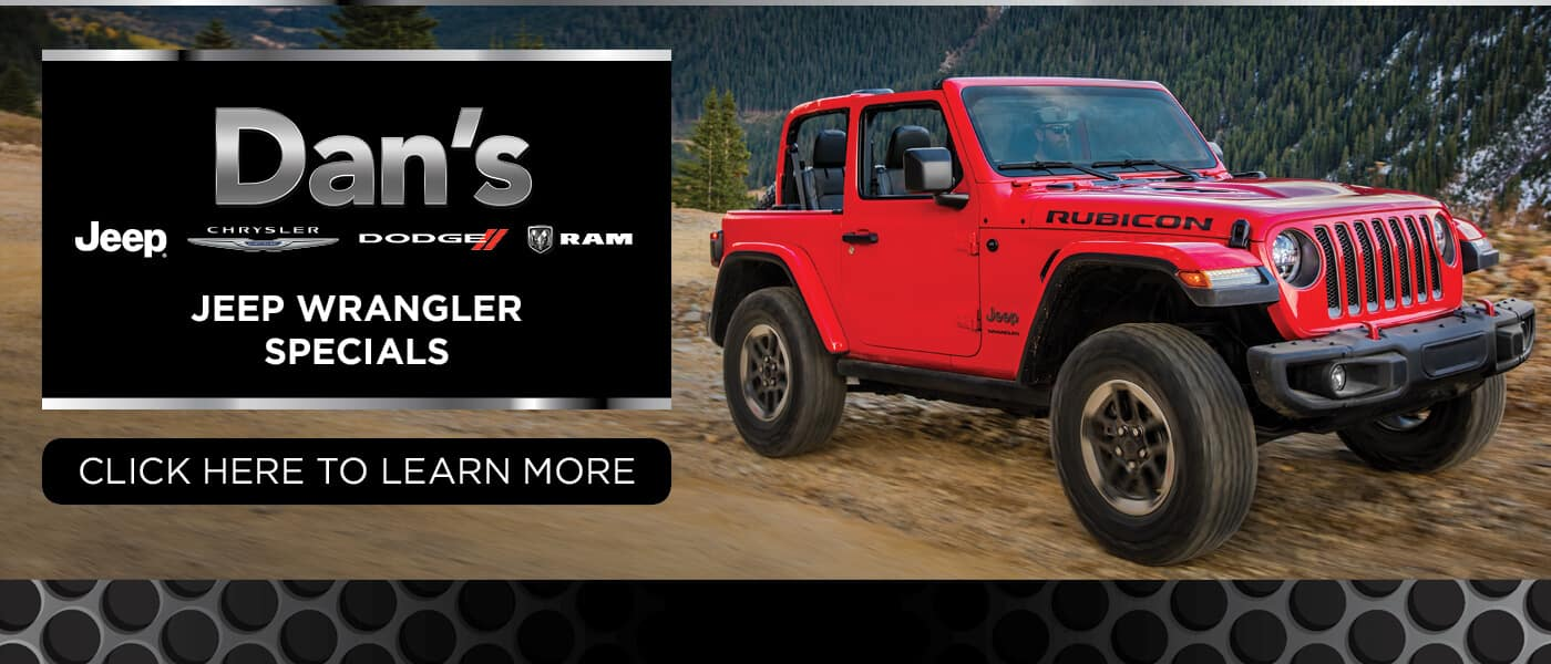 2019 Jeep Wrangler Specials Banner