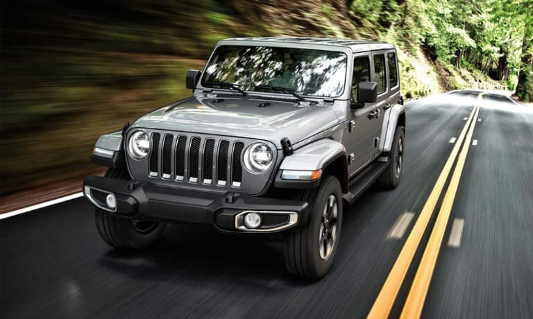 2019 Jeep Wrangler exterior driving through woods
