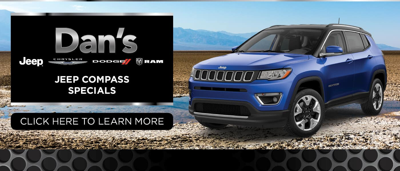 2019 Jeep Compass Specials Banner