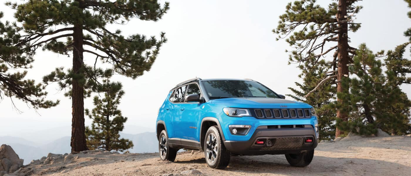 2019 Jeep Compass exterior mountain ledge