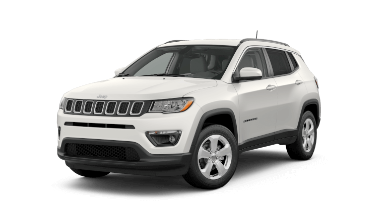 2019 Jeep Compass Limited - white