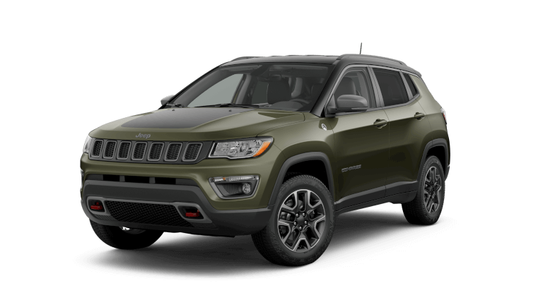 2019 Jeep Compass Trailhawk - Olive Green