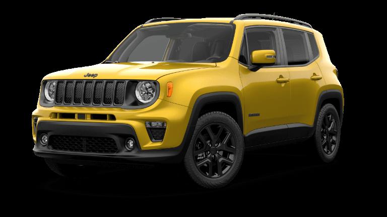 2019 Jeep Renegade Altitude - yellow