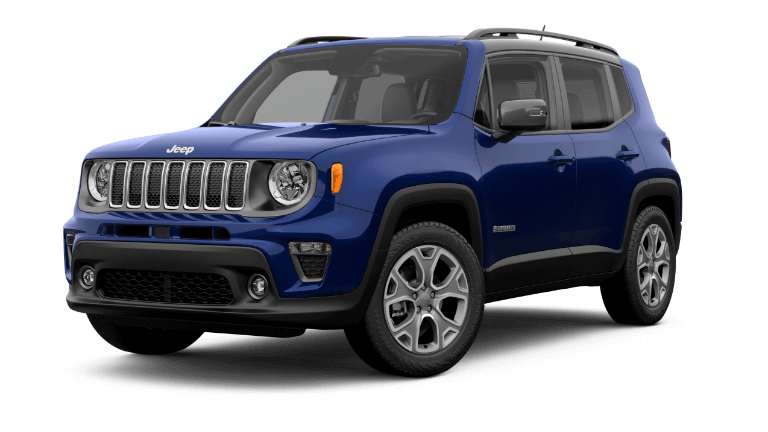 2019 Jeep Renegade Limited - blue