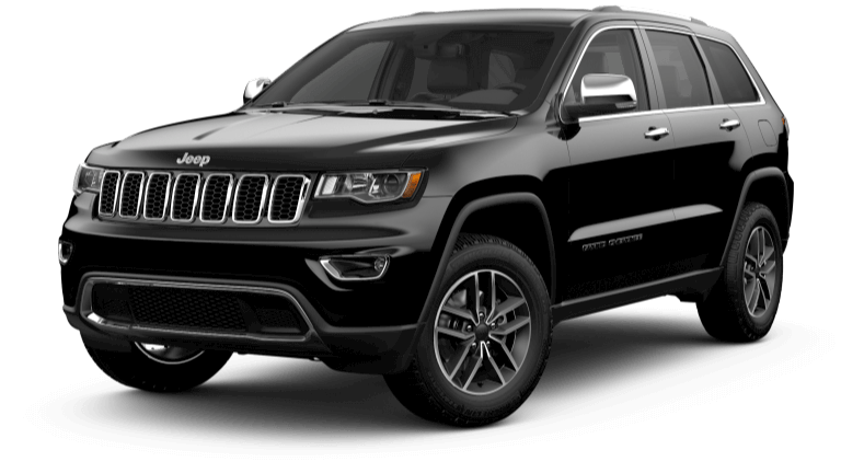 2019 Jeep Grand Cherokee Limited - black