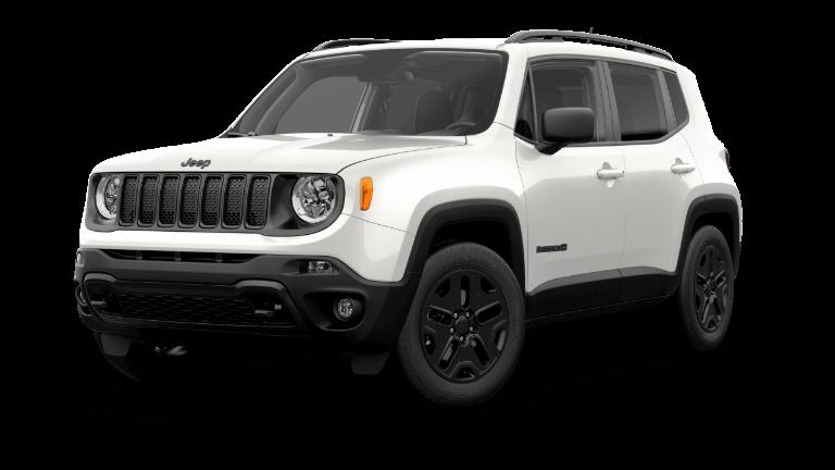 2019 Jeep Renegade Upland - white