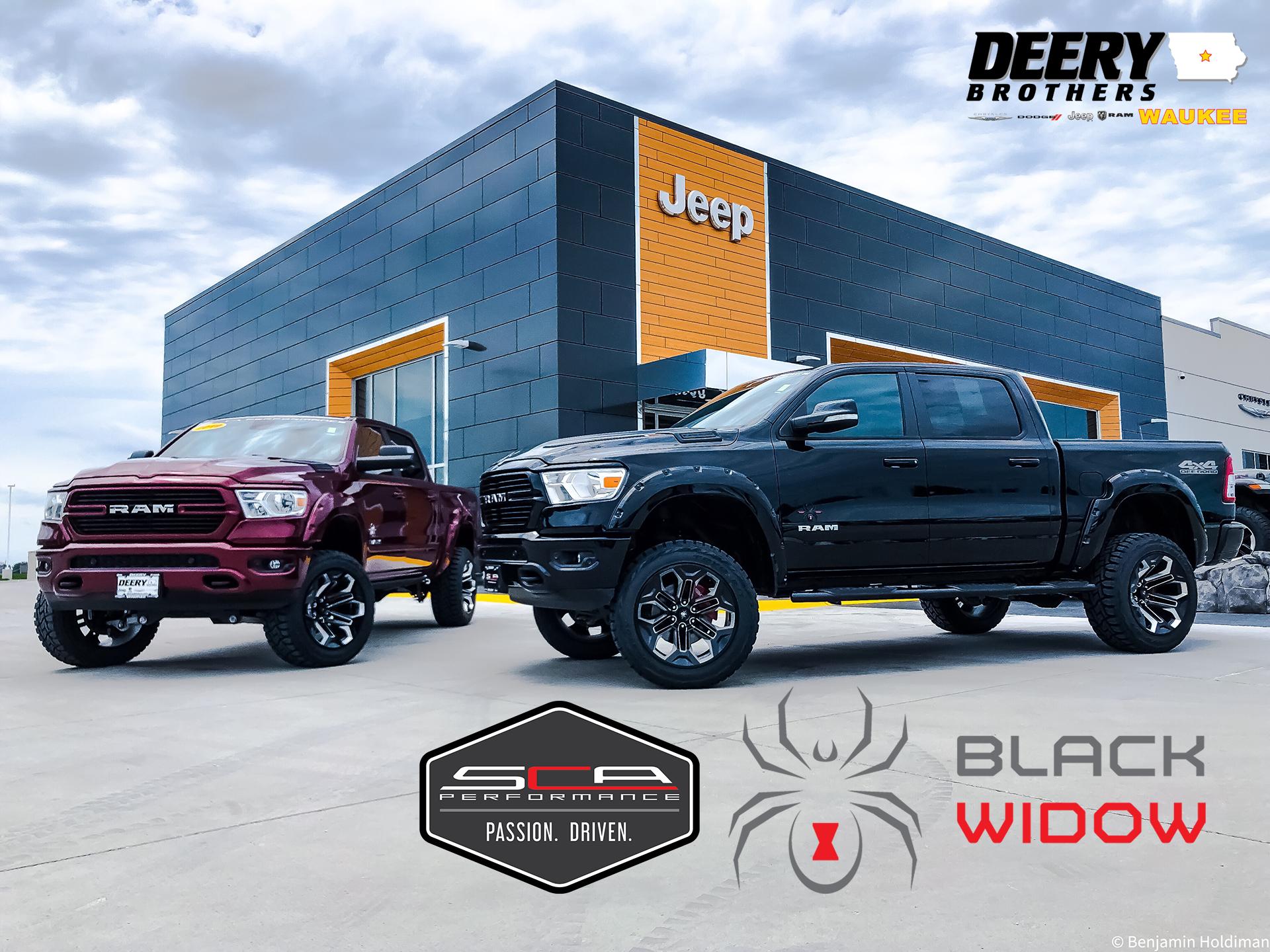 Sca Performance Black Widow Trucks Deery Brothers Chrysler Dodge Jeep Ram