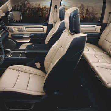 2020 Ram 1500 Limited interior seating