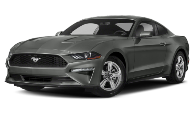 Gray 2020 Ford Mustang