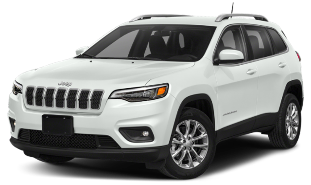 White 2020 Jeep Cherokee