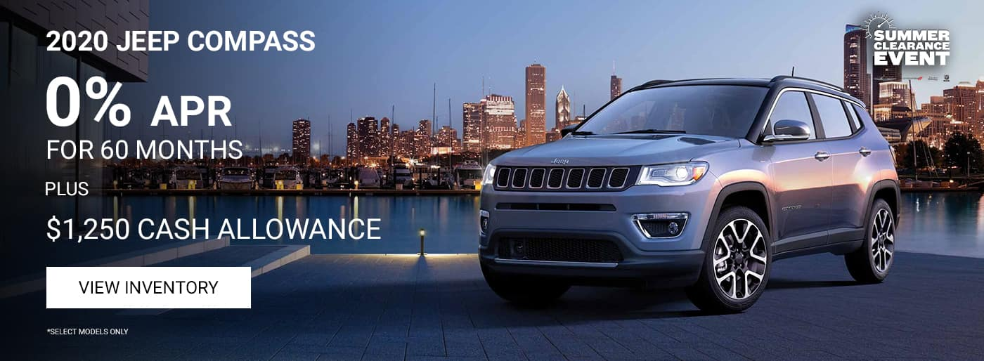 )% APR on Jeep Compass