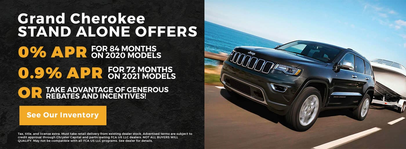 Grand Cherokee Stand Alone Offers
