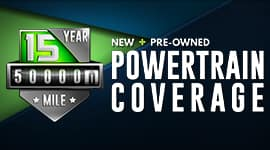 New & Pre-Owned Powertrain Coverage
